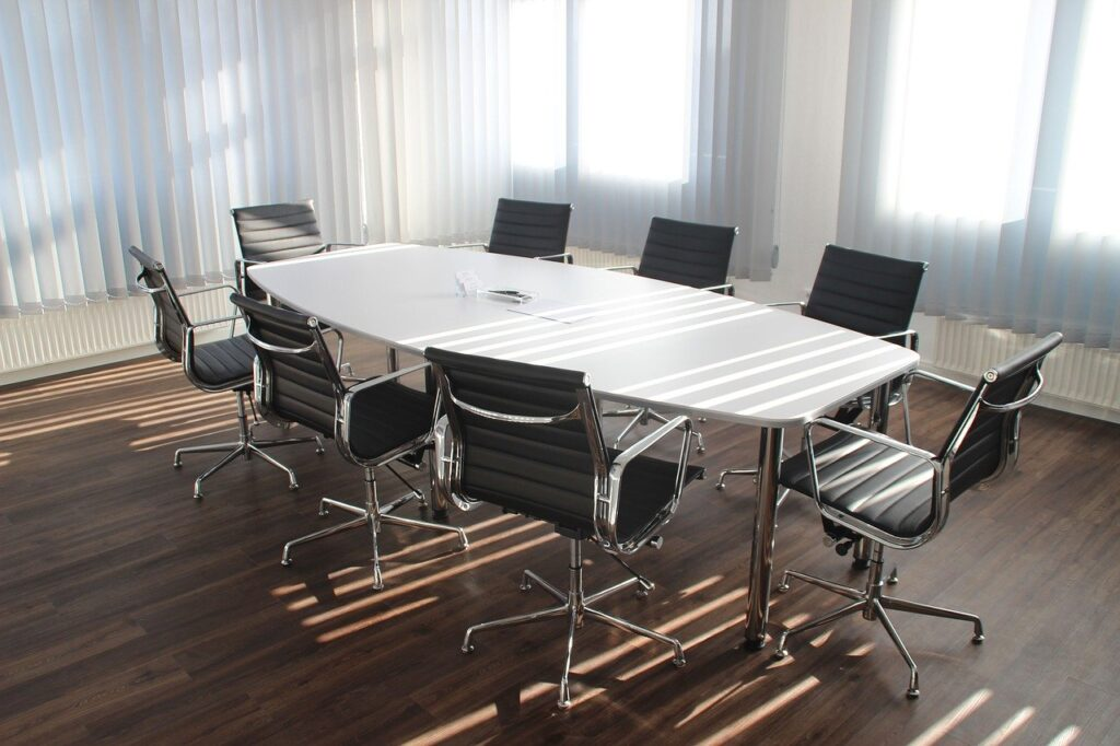 table, office, meeting
